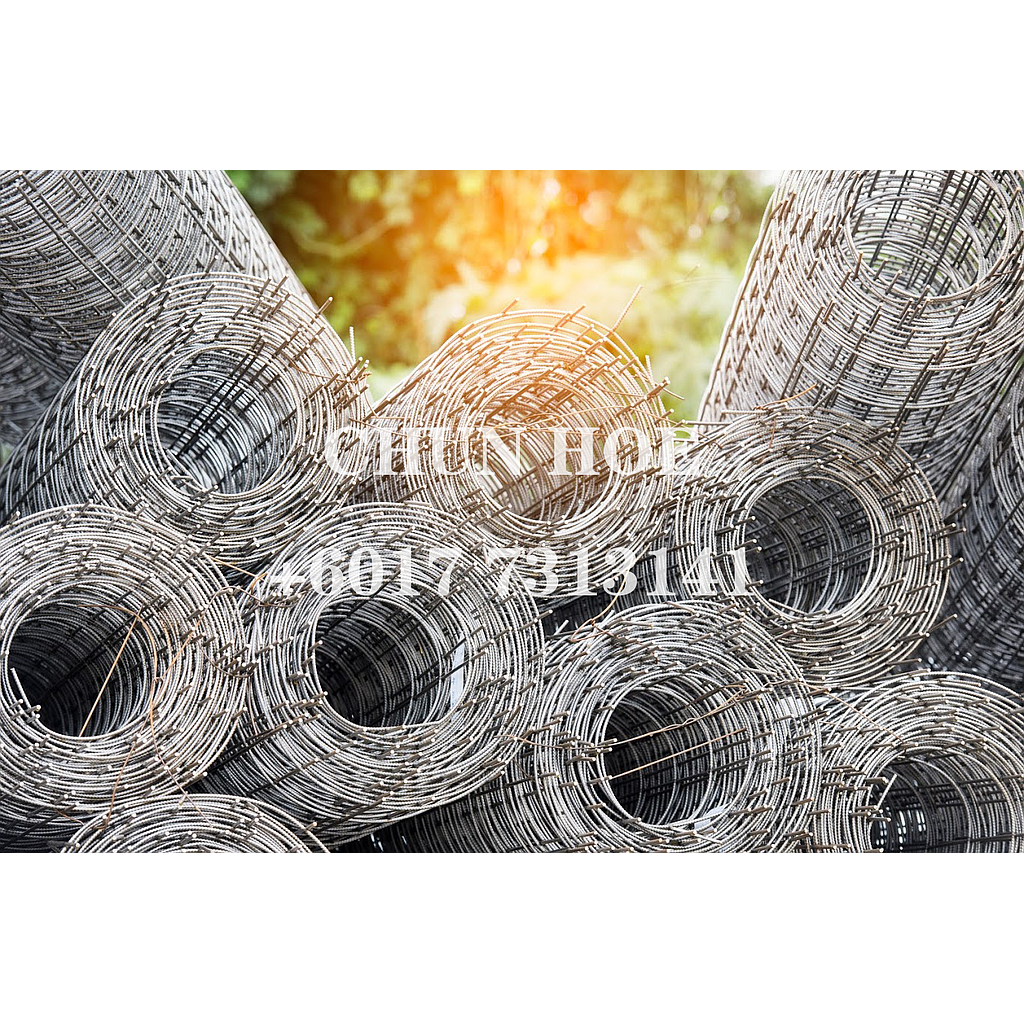 Welded Wire Mesh Rolls / Concrete Reinforcing Mesh